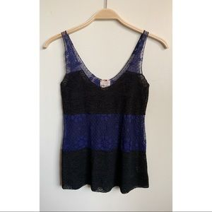 FREE PEOPLE | Intimately Floral Lace Tank XS